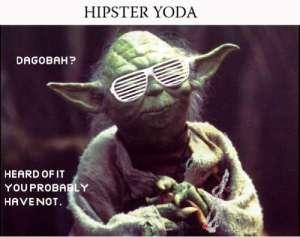 hipster yoda