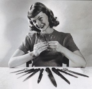 housewife knives